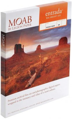 Moab Papers Entrada Rag Bright 300 17 x 22 [25 sheets]