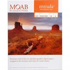 Moab Papers Entrada Rag Bright 300 8.5 x 11 [25 sheets]