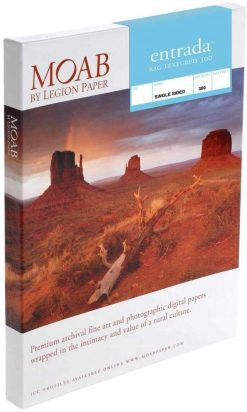 Moab Papers Entrada Rag Textured 300 5 x 7 [25 sheets]