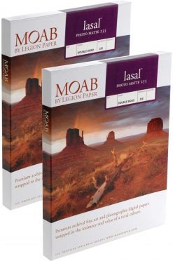 Moab Papers Lasal Photo Matte 235 5 x 7 [50 sheets]