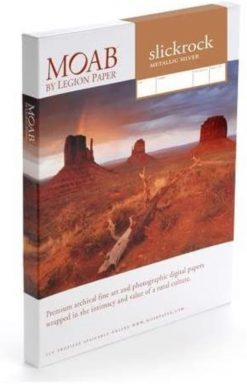 Moab Papers Slickrock Metallic Silver 8.5 x 11 [25 sheets]
