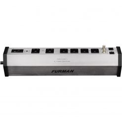 Furman PST-6 15A AC Strip 6 Outlets, 8 Ft Cord, UL1449 Standard Surge Protection