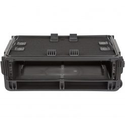 SKB Injection Mold Laptop/2U Rack with wheels and pull handle