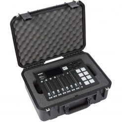 SKB iSeries Injection molded case for Rode RodeCaster Pro Mixer, 2 PodMics