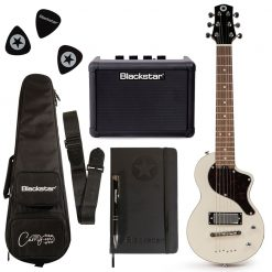 Blackstar Travel Guitar Deluxe Pack White with FLY3