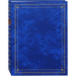 Pioneer Photo Albums Magnetic Self-Stick 3-Ring Photo Album 100 Pages (50 Sheets)- Royal Blue
