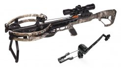 CenterPoint CP400 with Silent Crank Compound Crossbow Package - True Timber Strata Camo