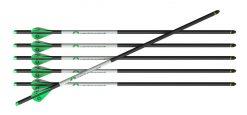 "CenterPoint 20"" Carbon Crossbow .003 400-Grain Arrow - 6 Pack"