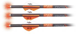 """CenterPoint CP400 Crossbow 20"""" 400-Grain Select Carbon Arrows with Lighted Nocks - 3 Pack"""