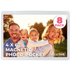 Freez-A-Frame Magnetic Photo Pocket 4 x 6 (8 Pack)