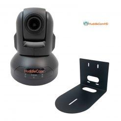 HuddleCamHD 10X-USB2 Conferencing Camera (Black)+HuddleCamHD HCM-1 Small Universal Wall Mount Bracket