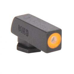 MEPROLIGHT Hyper-Bright Self Illuminated Fixed Night Sight Front for Glock 42, 43, 43X, 48 - Orange Ring