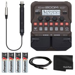 Zoom A1 FOUR Multi-effects Processor + More