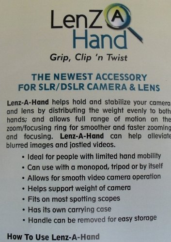 LenZa Lenz A Hand, Helps Hold and Stabilize your Camera and Lens