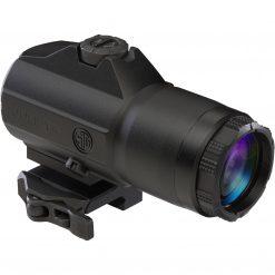 Sig Sauer JULIET4 4X Magnifier, 4x24mm, PowerCam QR Mount - Black