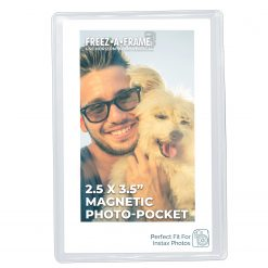 Freez-A-Frame Magnetic Photo Pocket 2.5 x 3 .5 (Wallet size)