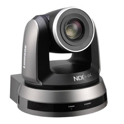 Lumens 20x Optical Zoom, 1080p Hi-Definition PTZ IP Camera,  NDI, Black Color