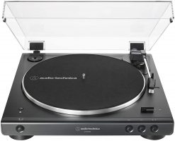 Audio Technica AT-LP60XBT-USB-BK Automatic Stereo Turntable, Black