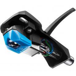Audio-Technica AT-VM95C/H Turntable Headshell/Cartridge Combo Kit Blue