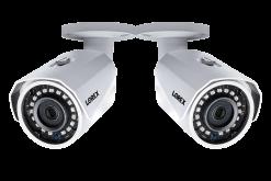 1080p HD Weatherproof Night-Vision Security Cameras (2-pack)