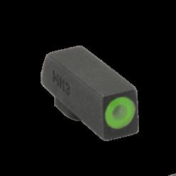 MEPROLIGHT Hyper-Bright Self Illuminated Fixed Night Sight Front for  CZ P10 - Green Ring