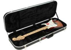 SKB Electric Guitar Rectangular Hardshell, Standard Latches, Handle