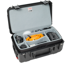 SKB iSeries 3i-2011-7 Case with Think Tank Designed Removable Zippered Divider Interior