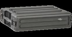 "SKB 2U Shallow Roto Rack with Steel Rails (Front/Back), 10.5"" Deep (Rail-to-Rail)"