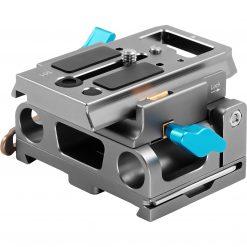 Kondor Blue 15mm LWS Arri/501 Side Loading Baseplate for Red Komodo, BMPCC & Mirrorless