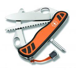 Victorinox Swiss Army Hunter XT with Pouch Pocket Knife Multi-Tool, Orange