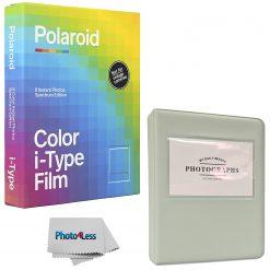 Polaroid Color film for i-Type - Spectrum Edition + Grey Album for 32 Prints