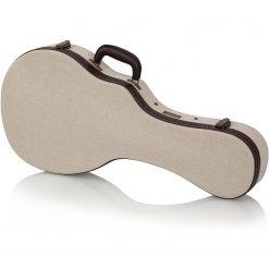 Gator GW-JM MANDOLIN Journeyman Burlap Deluxe Wood Case for Mandolin