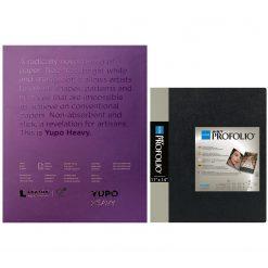 """Itoya Profolio 11"""" X 14"""" Art Presentation Portfolio + Yupo Heavy Pads 11x14 144lb 390gsm"""