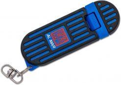 "Al Mar Knives 1.3"" Stinger Keychain Knife - Blue (Gift Box)"