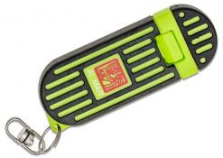 "Al Mar Knives 1.3"" Stinger Keychain Knife - Green (Gift Box)"