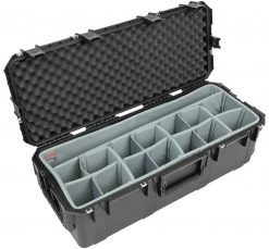 SKB iSeries 3613-12 Case with Think Tank Lighting/Stand Dividers & Lid Foam (Black)