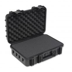 "SKB 3I-1610-5B-C Mil-Std Waterproof Case 5"" Deep with Foam (Black)"