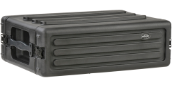 "SKB 3U Shallow Roto Rack with Steel Rails (Front/Back), 10.5"" Deep (Rail-to-Rail)"