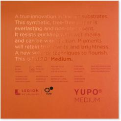 Yupo Medium Pads 7x7 74lb 200gsm