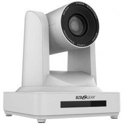 BZBGEAR PTZ 20X Zoom Full HD HDMI/SDI Live Streaming Camera with POE, White