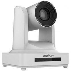 BZBGEAR PTZ 30X Zoom Full HD HDMI/SDI Live Streaming Camera with POE, White