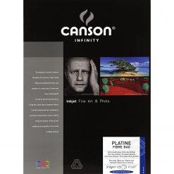 "Canson Infinity Platine Fibre Rag Art Paper 11"" x 17"" 25 sheets"