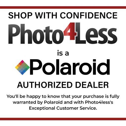 Polaroid Hi-Print 2X3 Paper Cartridge 20 sheets + Purple Album Holds 64 Photos