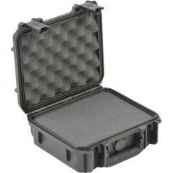 "SKB 3I-0907-4-C Small Mil-Std Waterproof Case 4"" Deep with Cubed Foam (Black)"