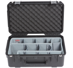 SKB iSeries 2011-8 Case with Think Tank Photo Dividers & Lid Foam (Black)