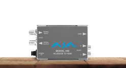 AJA Hi5 HD-SDI/SDI to HDMI Video and Audio Converter Support 10-Bit Video and 8 Channels of Embedded Audio