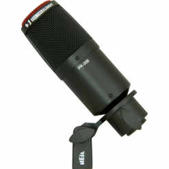 Heil Sound Large-Diaphragm Dynamic Microphone with Black Body and Grill