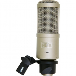 Heil Sound Large Diameter Studio Microphone Nickel
