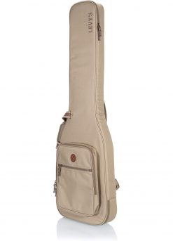 Levy's Leathers Deluxe Gig Bag for Bass Guitars – Tan