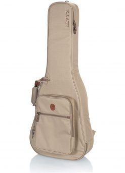 Levy's Leathers Deluxe Gig Bag for Classical Guitars – Tan